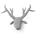 Houndstooth Deer - Wall Mount