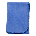 Blue - Cotton Flannel Throw